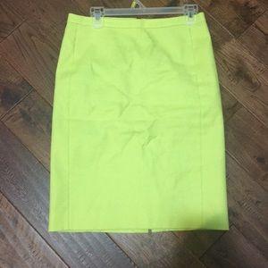 J Crew Pencil Skirt Size 4